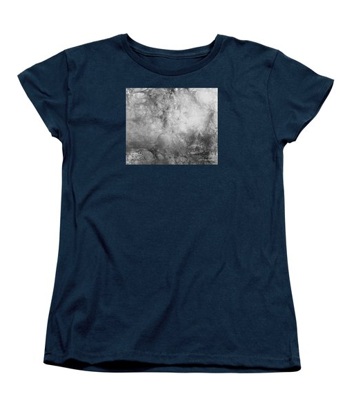 Women's T-Shirt (Standard Cut) featuring the painting Camouflage by Trilby Cole