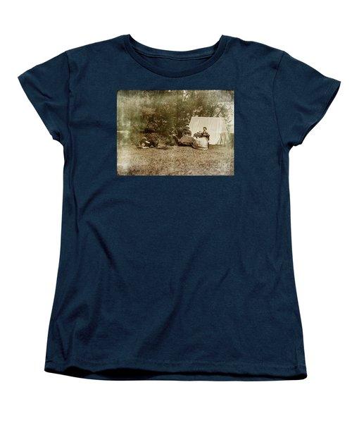 Camp Life Women's T-Shirt (Standard Cut) by Randall Cogle