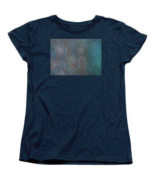 Can You Hear The News Of Tomorrow? Women's T-Shirt (Standard Cut) by Min Zou