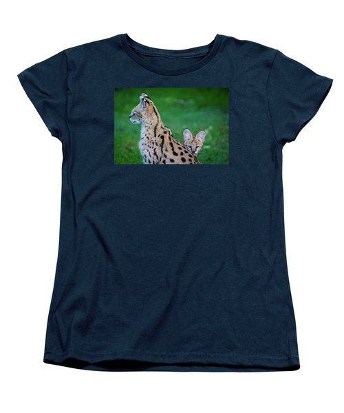Can You See Me? Women's T-Shirt (Standard Cut) by Rainer Kersten