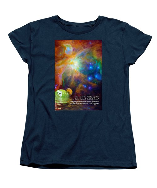 Can You Tie The Pliades Together? Women's T-Shirt (Standard Cut) by Chuck Mountain