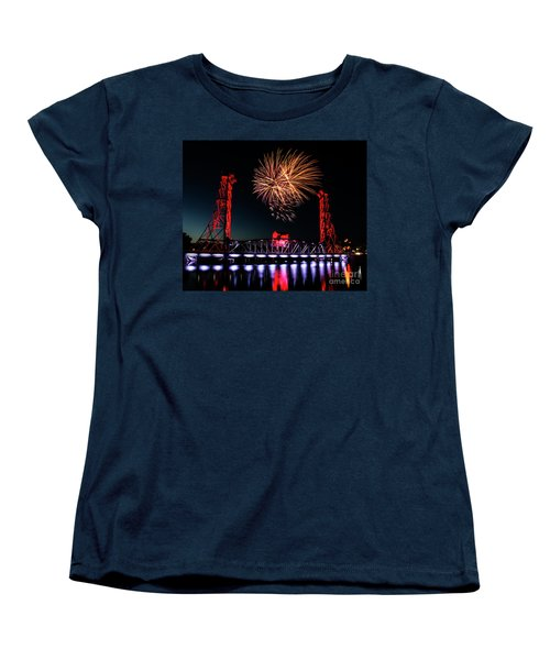 Canada Day 2016 Women's T-Shirt (Standard Cut) by JT Lewis