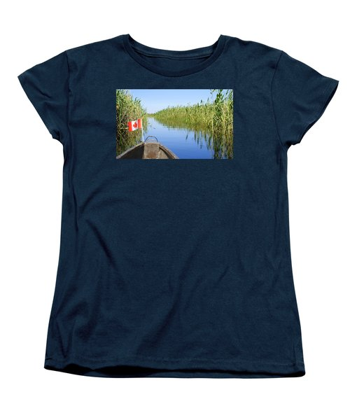 Women's T-Shirt (Standard Cut) featuring the photograph Canadians In Africa by Betty-Anne McDonald