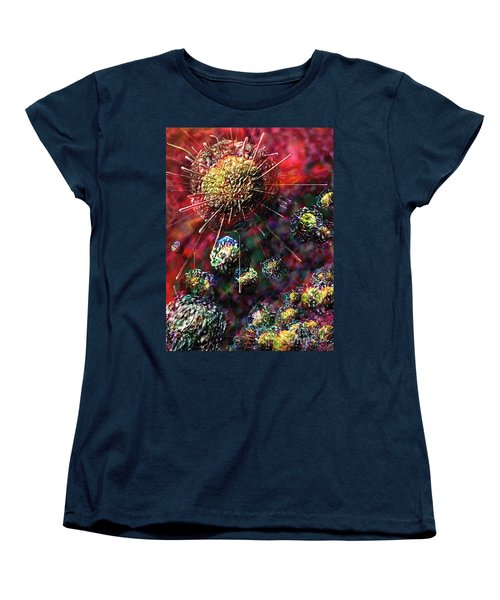 Cancer Cells Women's T-Shirt (Standard Cut) by Russell Kightley