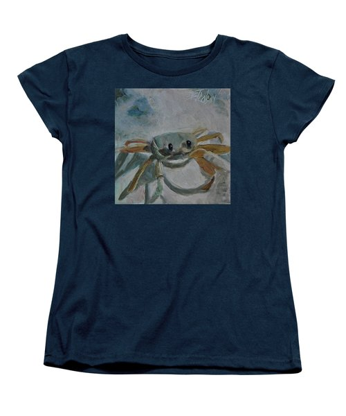 Cancer's Are Not Crabby Women's T-Shirt (Standard Cut) by Billie Colson