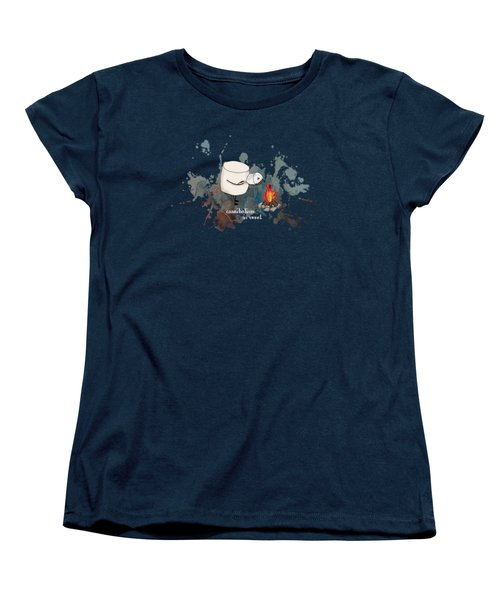 Cannibalism Is Sweet Illustrated Women's T-Shirt (Standard Cut) by Heather Applegate