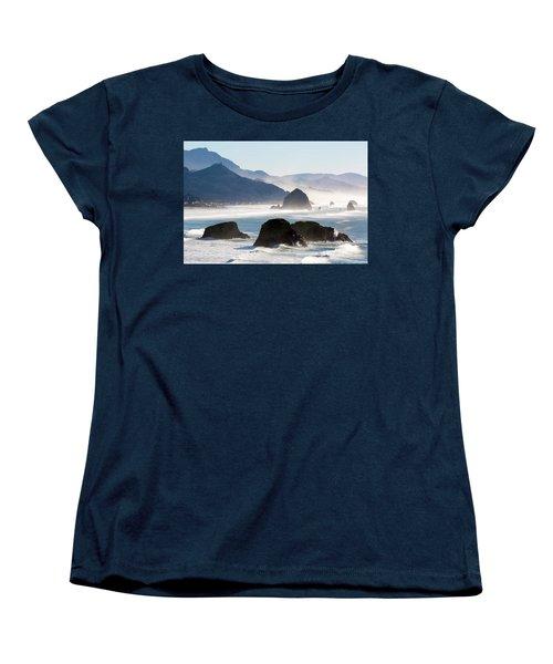 Cannon Beach On The Oregon Coast Women's T-Shirt (Standard Fit)