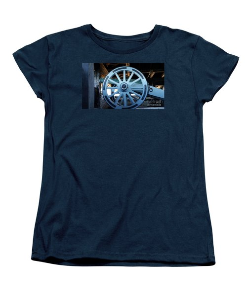 Cannon Women's T-Shirt (Standard Cut) by Raymond Earley