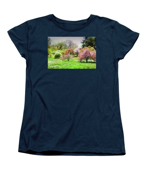 Women's T-Shirt (Standard Cut) featuring the photograph Garden Canvas  by Diana Angstadt