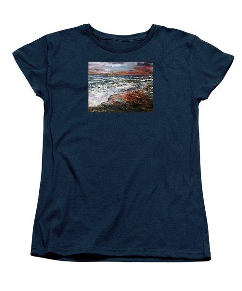 Cape Cod Sunset 1 Women's T-Shirt (Standard Cut)