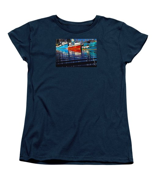 Cape Harbour Women's T-Shirt (Standard Cut) by Dennis Cox WorldViews
