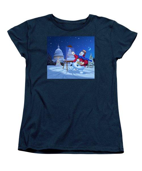 Capitol Snoman Women's T-Shirt (Standard Cut)