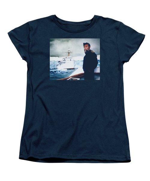 Capt Derek Law Women's T-Shirt (Standard Cut) by Tim Johnson