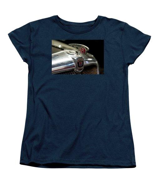 Car Mascot Iv Women's T-Shirt (Standard Cut) by Helen Northcott