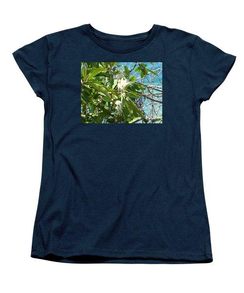 Caribbean Honeysuckle Women's T-Shirt (Standard Cut) by Margaret Brooks