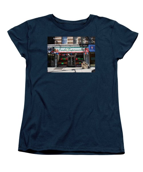Women's T-Shirt (Standard Cut) featuring the photograph Caribe Supermarket by Cole Thompson