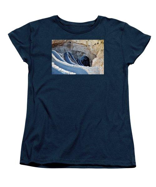 Carlsbad Caverns Natural Entrance Women's T-Shirt (Standard Cut) by Kyle Hanson