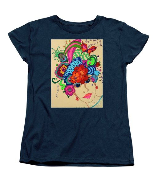 Carmen Women's T-Shirt (Standard Cut) by Alison Caltrider