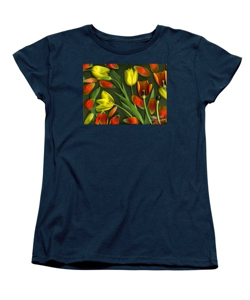 Carnival  Women's T-Shirt (Standard Cut) by Christian Slanec