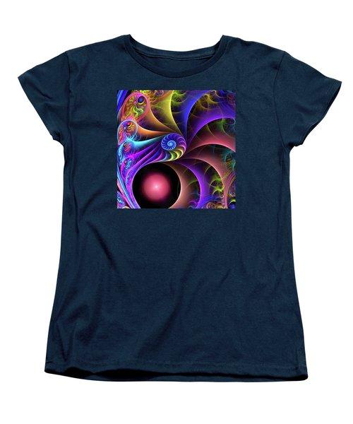Carnival Women's T-Shirt (Standard Cut) by Kathy Kelly