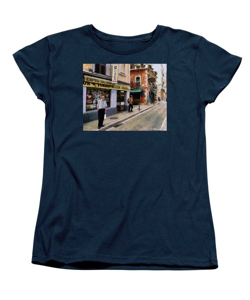 Carrer Dosrius Women's T-Shirt (Standard Cut) by Kai Saarto