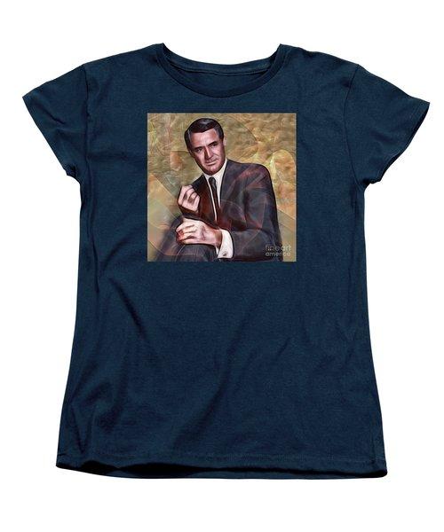 Cary Grant - Square Version Women's T-Shirt (Standard Cut)