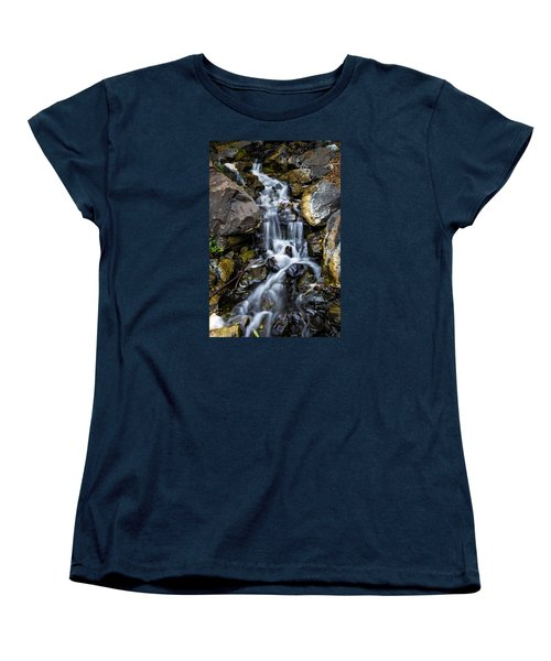 Women's T-Shirt (Standard Cut) featuring the photograph Cascade by Keith Hawley