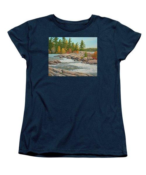 Cascading Flow Women's T-Shirt (Standard Cut)