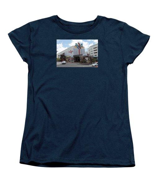 Casino Royale St. Maarten Women's T-Shirt (Standard Cut) by Christopher Kirby