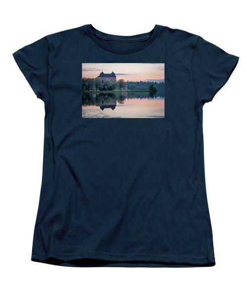 Castle After The Sunset Women's T-Shirt (Standard Cut) by Teemu Tretjakov