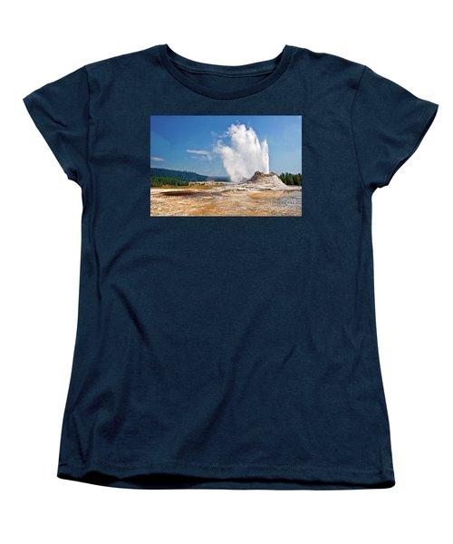 Castle Geyser Women's T-Shirt (Standard Fit)