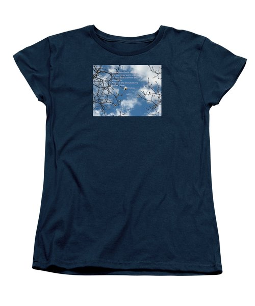 Castles In The Air Women's T-Shirt (Standard Cut) by Deborah Dendler