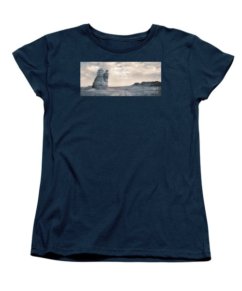 Castles Of Wonder Women's T-Shirt (Standard Cut) by Thomas Bomstad