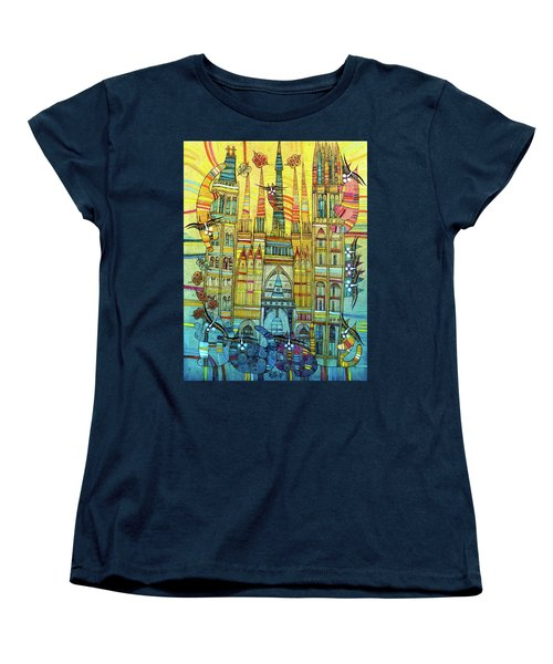 Cat-hedral Women's T-Shirt (Standard Cut)
