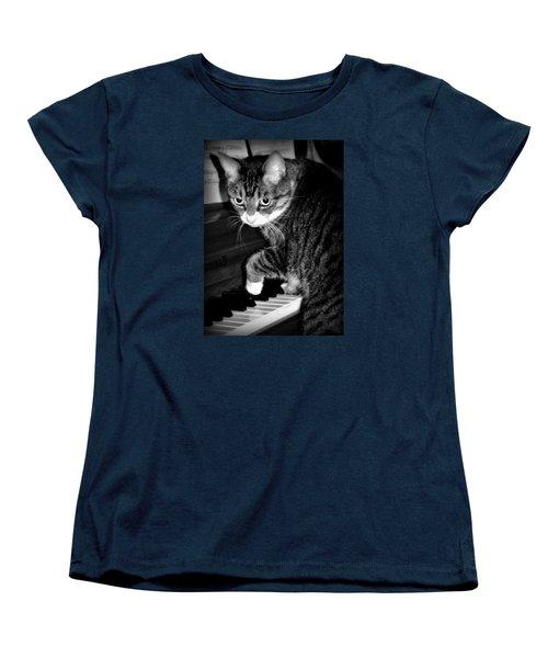 Cat Jammer Women's T-Shirt (Standard Cut)