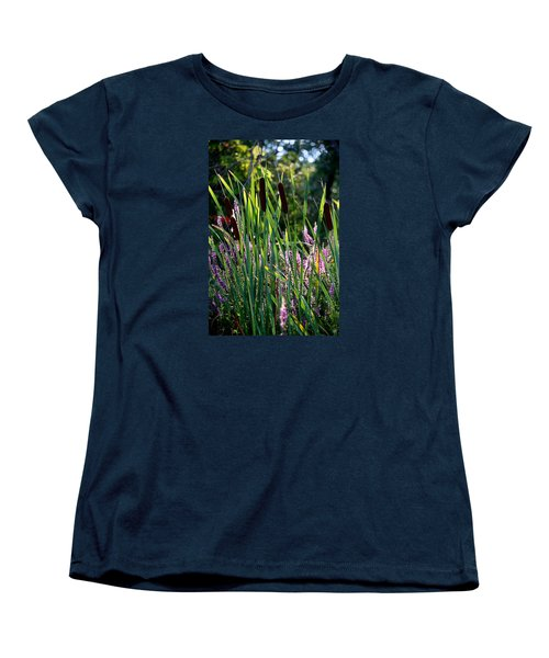 Cat Tails In The Morning Women's T-Shirt (Standard Cut)