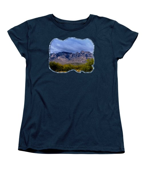 Catalina Mountains P1 Women's T-Shirt (Standard Cut) by Mark Myhaver