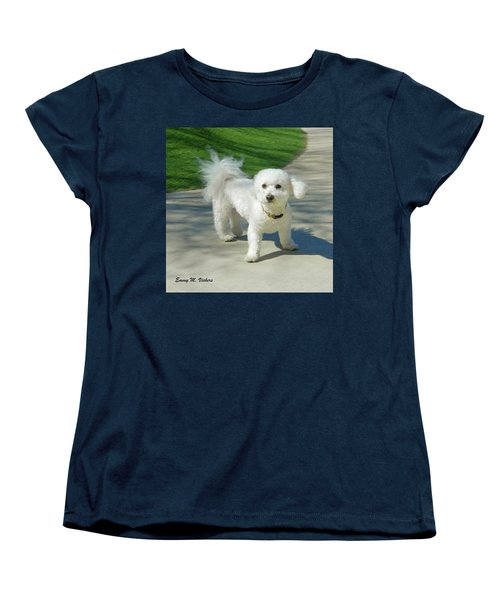 Catch Me If You Can Mommy Women's T-Shirt (Standard Cut) by Emmy Marie Vickers