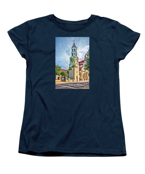 Women's T-Shirt (Standard Cut) featuring the photograph Cathedral Basilica by Anthony Baatz