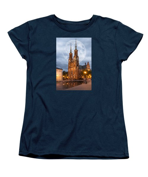 Women's T-Shirt (Standard Cut) featuring the photograph Cathedral by Jaroslaw Grudzinski