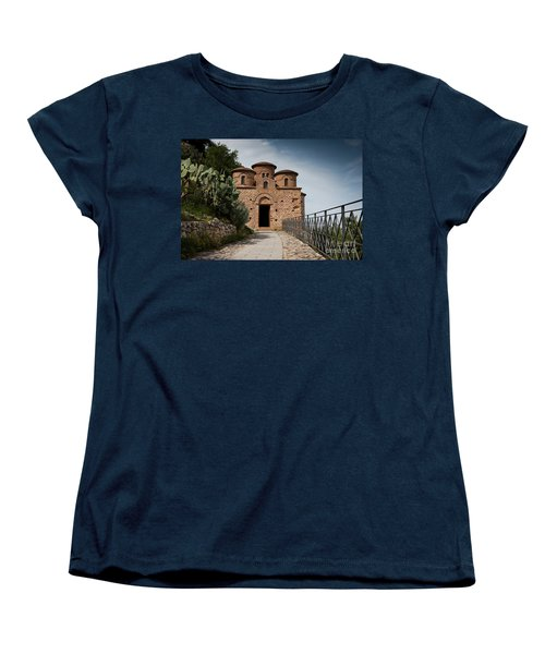 Women's T-Shirt (Standard Cut) featuring the photograph Cattolica Di Stilo by Bruno Spagnolo