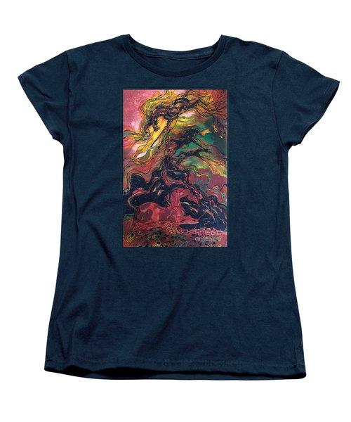 Caught In The Thunderstorm Women's T-Shirt (Standard Cut)