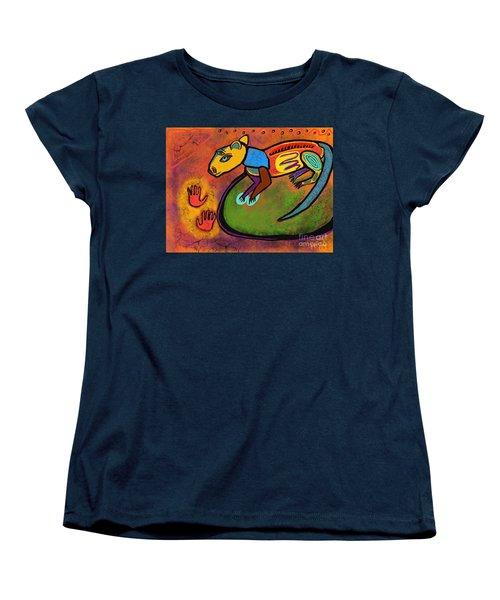Cave Rat Women's T-Shirt (Standard Cut) by Hans Magden