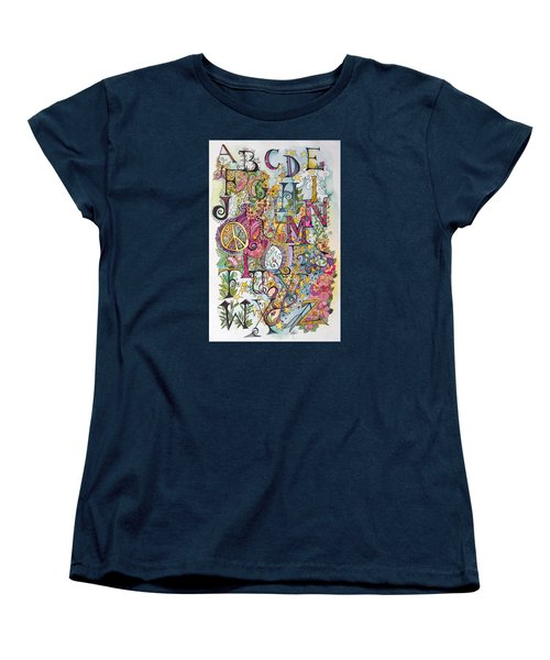 Celebrate Women's T-Shirt (Standard Cut) by Claudia Cole Meek