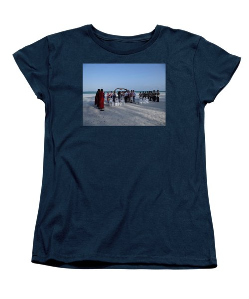 Celebrate Marriage On The Beach Women's T-Shirt (Standard Fit)