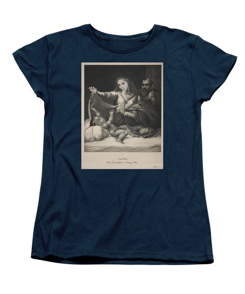 Celebrity Etchings - North Kim And Kanye Women's T-Shirt (Standard Cut) by Serge Averbukh