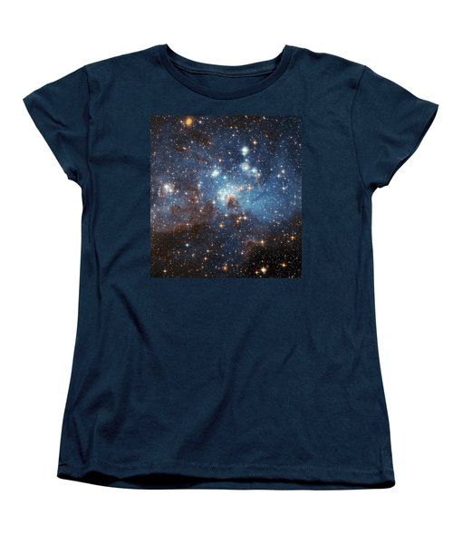 Women's T-Shirt (Standard Cut) featuring the photograph Celestial Season's Greetings From Hubble by Nasa