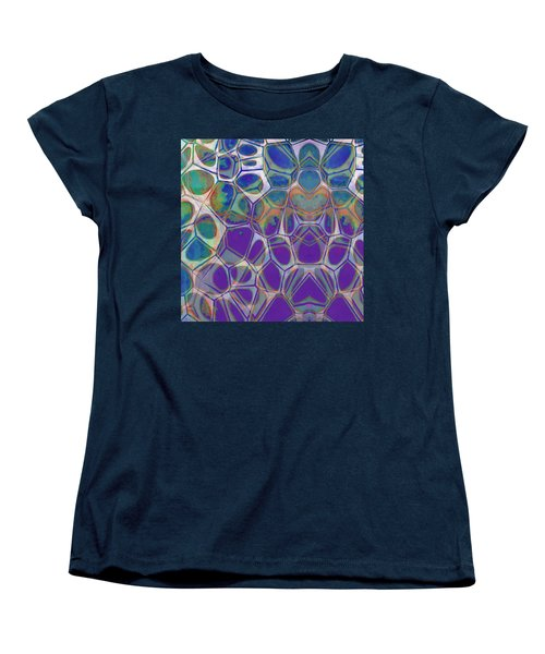 Cell Abstract 17 Women's T-Shirt (Standard Cut) by Edward Fielding