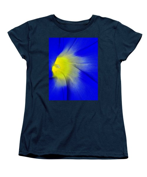 Women's T-Shirt (Standard Cut) featuring the photograph Center Of Being by Lenore Senior