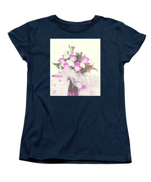 Centerpiece Women's T-Shirt (Standard Cut) by Inspirational Photo Creations Audrey Woods